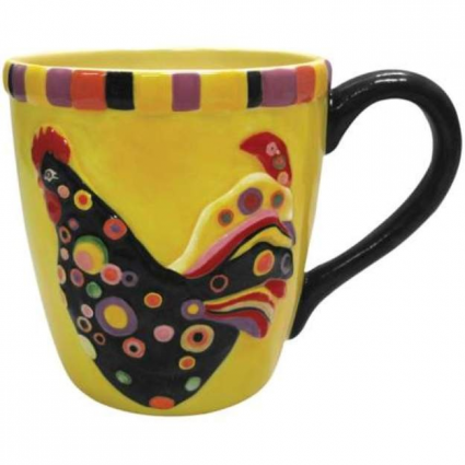 Poultry In Motion Spot A Dot Ceramic Coffee Mug