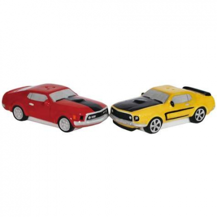 Ford Classic Muscle Car Salt and Pepper Shaker Set