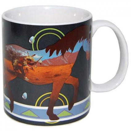 Horse of a Different Color Rain Dancer Coffee Mug Ivey's Gifts and Decor