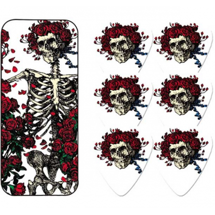 The Grateful DeadSkull and Roses Dunlop Guitar Picks