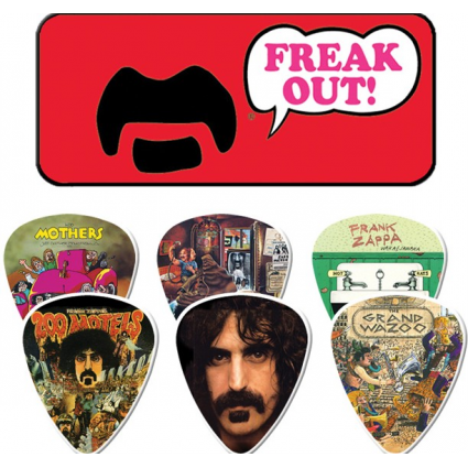 Frank Zappa Red Freak Out Collectors Dunlop Guitar Picks