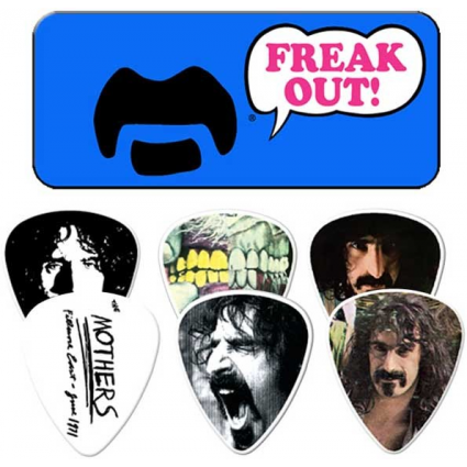 Frank Zappa Blue Freak Out Collectors Dunlop Guitar Picks