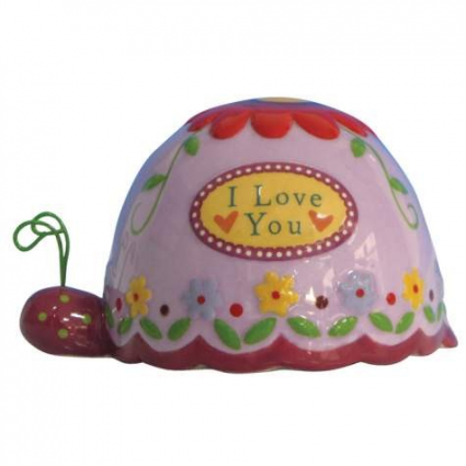 Tiny Treasures I Love You Ceramic Turtle Figurine