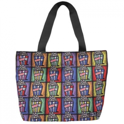 Burton Morris Popcorn Buckets Cloth Tote Bag