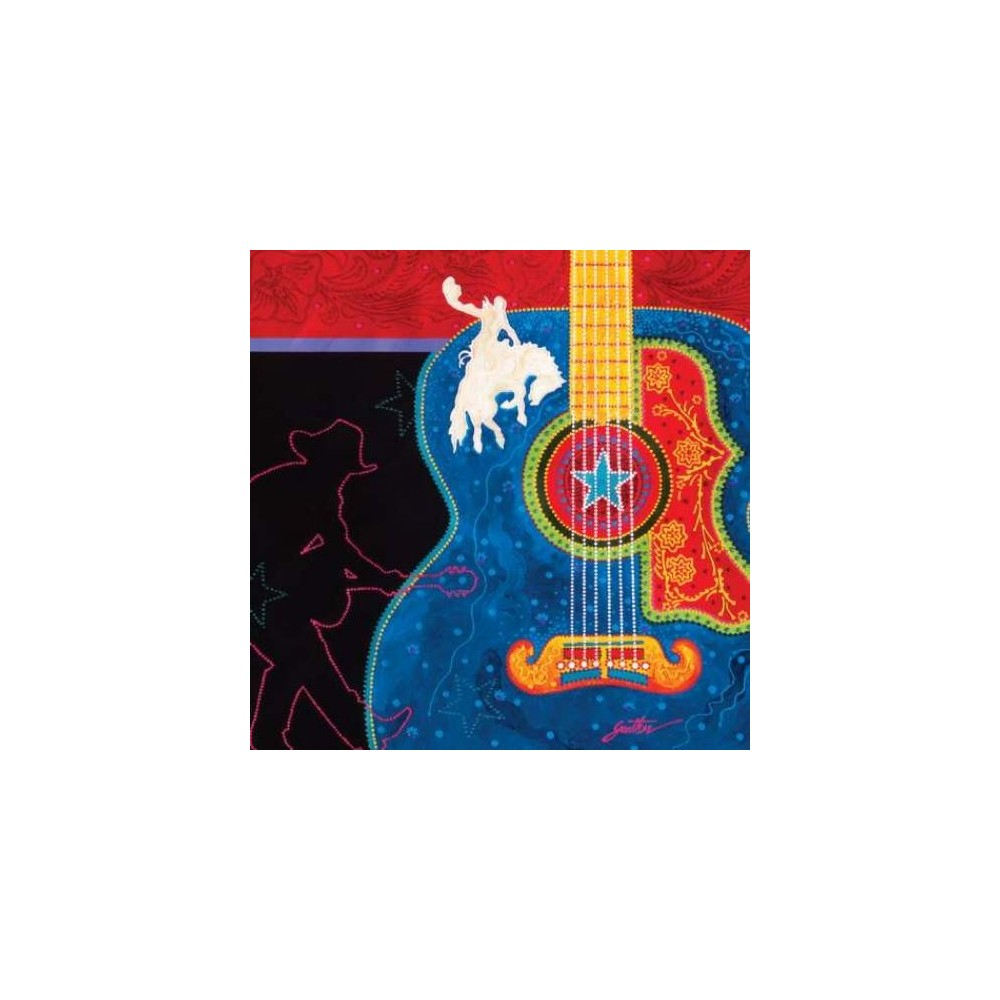 Westland Giftware Western Artist Lyndon Gaither Guitar Canvas Wall Art Free  Shipping Iveyu0027s Gifts And Decor