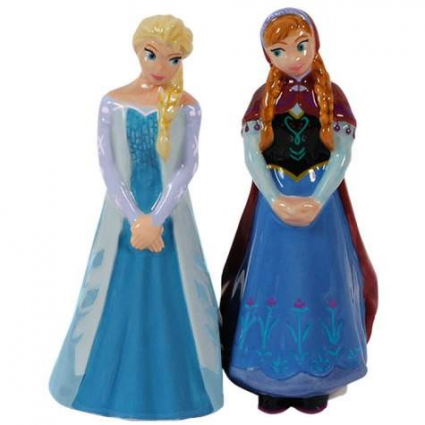 Disney Frozen Elsa & Anna Ceramic Salt & Pepper Shakers