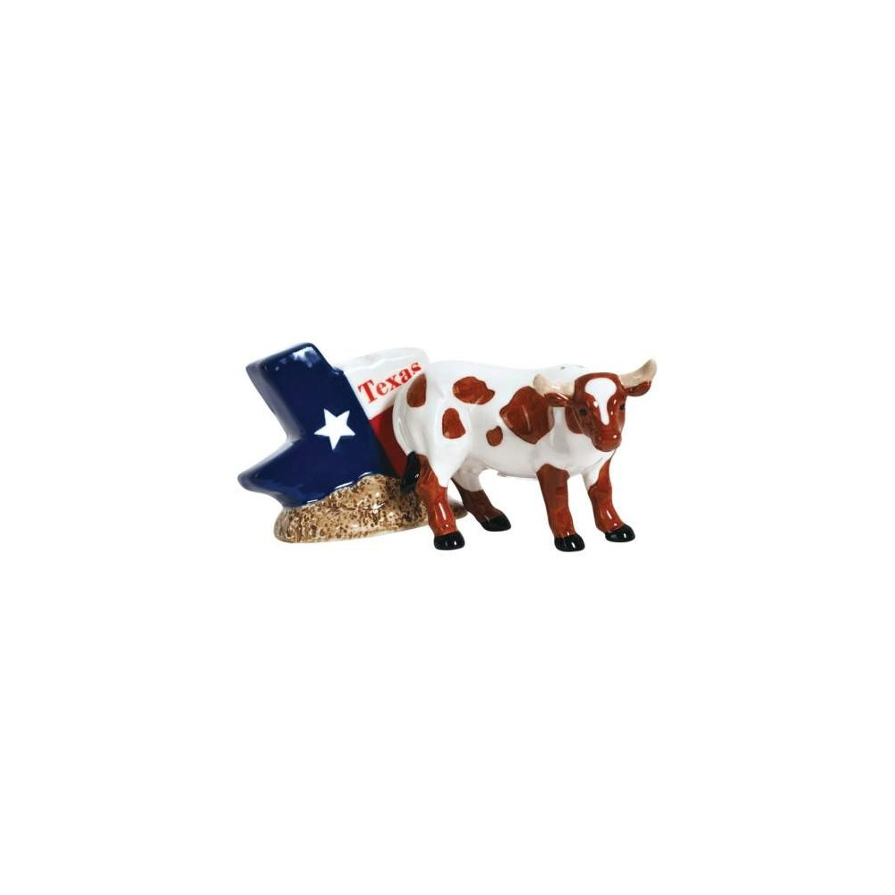 The State Of Texas Souvenir Magnetic Salt & Pepper Shakers