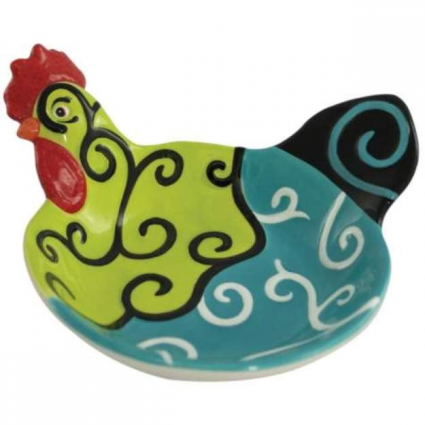 Poultry In Motion Whirl Of Swirls Appetizer Bowl From Sharon Neuhaus