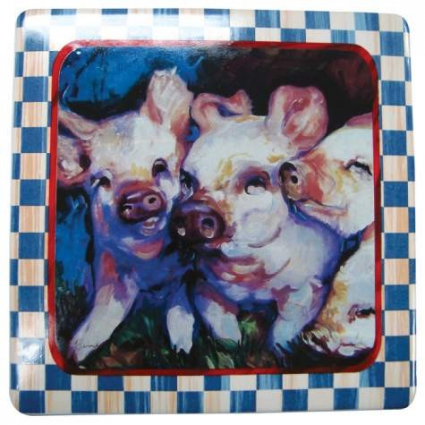 3 Piglets Kitchen Plaque From Macia Baldwin
