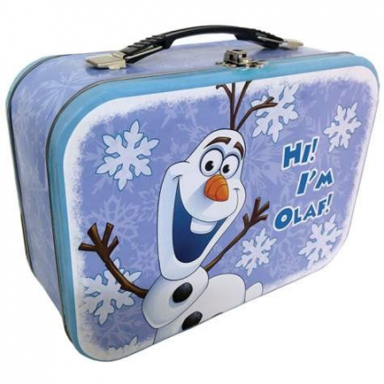 Disney Frozen Olaf The Snowman Metal Lunchbox