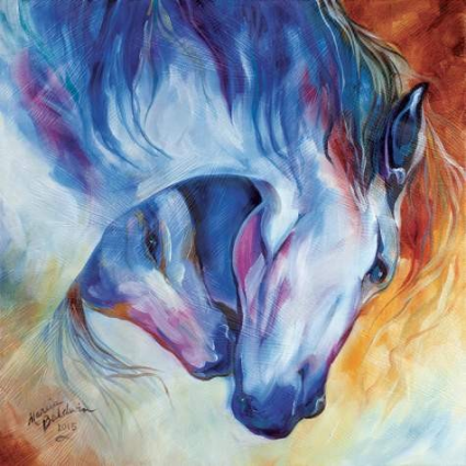 Marcia Baldwin Eternal Bond Equine Canvas Art