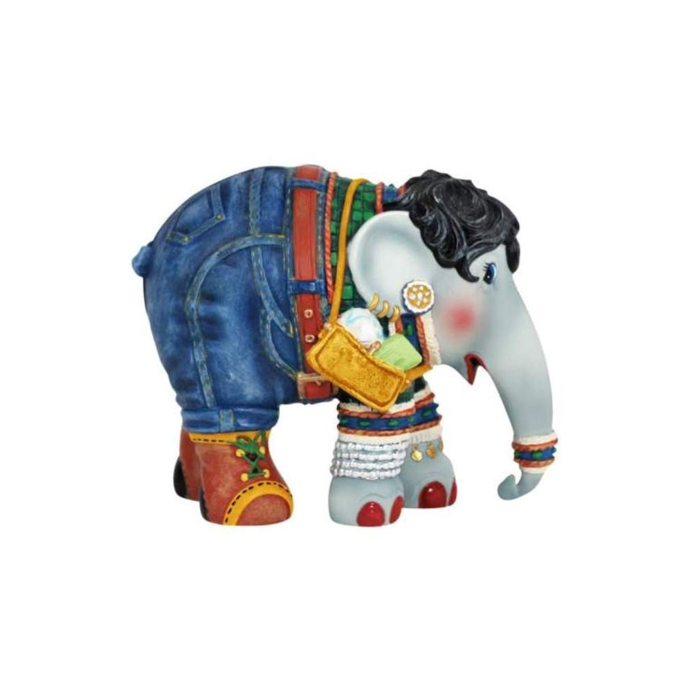 Westland Giftware Shopping Queen Elephant Parade Elephant Figurine Ivey's Gifts and Decor