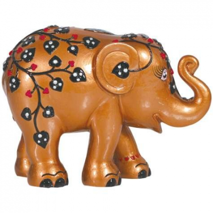 Elephant Parade Pretty And Pink Elephant Figurine