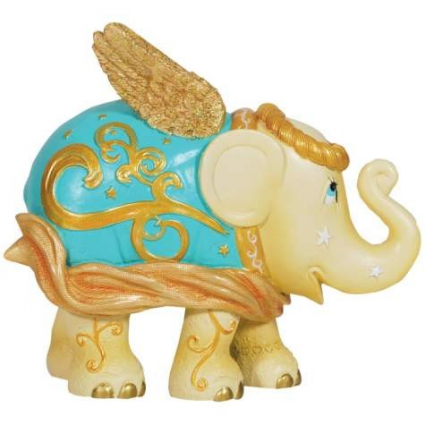 Elephant Parade Golden Angel Elephant Figurine