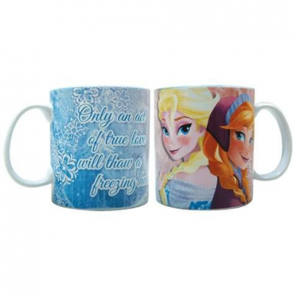 Disney Elsa and Anna Ceramic Coffee Mug 26401