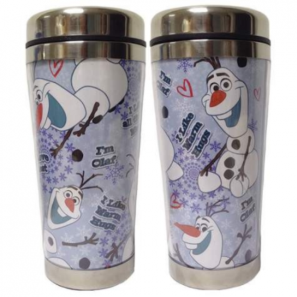Disney Frozen I'm Olaf I Like Warm Hugs Acrylic Travel Mug