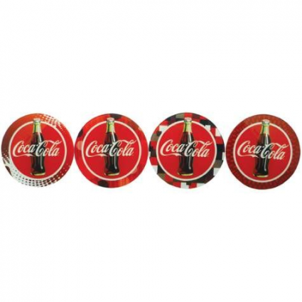 Coca Cola Set Of 4 Coasters Ivey's Gifts and Decor