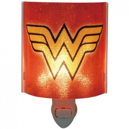 DC Comics Wonder Woman Logo Acrylic Nightlight