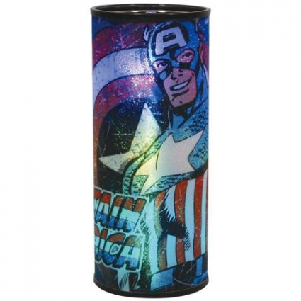 Marvel Comics Captain America Round Hanging Nightlight
