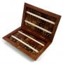 Handmade Wooden Indian Rosewood Domino Box And Dominoes At Ivey's Gifts And Decor