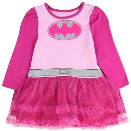 DC Comics Batgirl Pink Infant Tutu Dress With Detachable Cape At Ivey's Gifts & Decor
