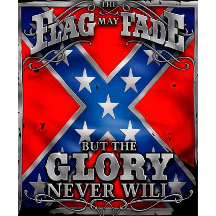 The Flag May Fade But The Glory Never Will Fleece Blanket At Ivey's Gifts And Decor Home Decor