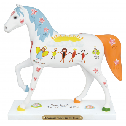 Trail Of Painted Ponies Children's Prayer For The World At Ivey's Gifts And Decor