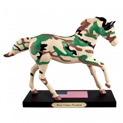 Trail Of Painted Ponies Artist Janet Snyder First Comes Freedom Horse Figurine At Ivey's Gifts & Decor