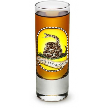 Erazor Bits Don't Tread On Me United States Marines Shot Glass At Ivey's Gifts And Decor