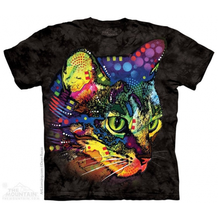 The Mountain Artwear Dean Russo Mysterio Gaze Cat Men And Womens Cat Shirt Ivey's Gifts And Decor