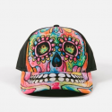 The Mountain Artwear Dean Russo Day Of The Dead Sugar Skull Baseball Cap Ivey's Gifts And Decor