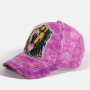 The Mountain Artwear Dean Russo Golden Retriever Purple Baseball Cap Ivey's Gifts And Decor
