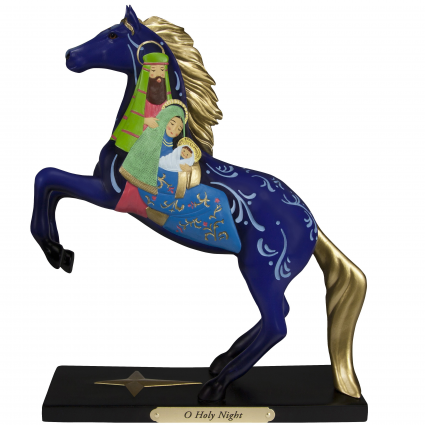 Trail Of Painted Ponies O Holy Night Horse Figurine