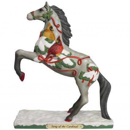 Trail Of Painted Ponies Song Of The Cardinal Horse Figurine