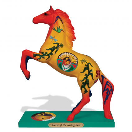 Trail Of Painted Ponies Horse Of The Rising Sun Horse Figurine