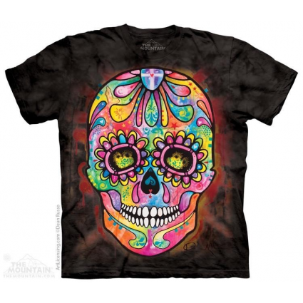 The Mountain Artwear Day Of The Dead Sugar Skull Shirt Ivey's Gifts And Decor