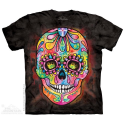 The Mountain Day Of The Dead Sugar Skull Shirt Ivey's Gifts And Decor
