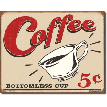 Desperate Enterprises Schonberg Drink Coffee Bottomless Cup Ivey's Gifts And Decor