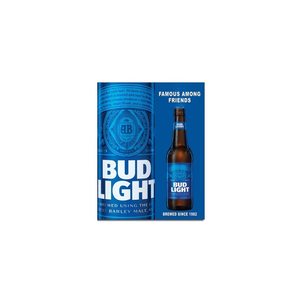 16 W X 12 5 H Desperate Enterprises Bud Light Retro Tin Sign Signs Plaques Home On the street of ridge road and street number is 6831. dav college