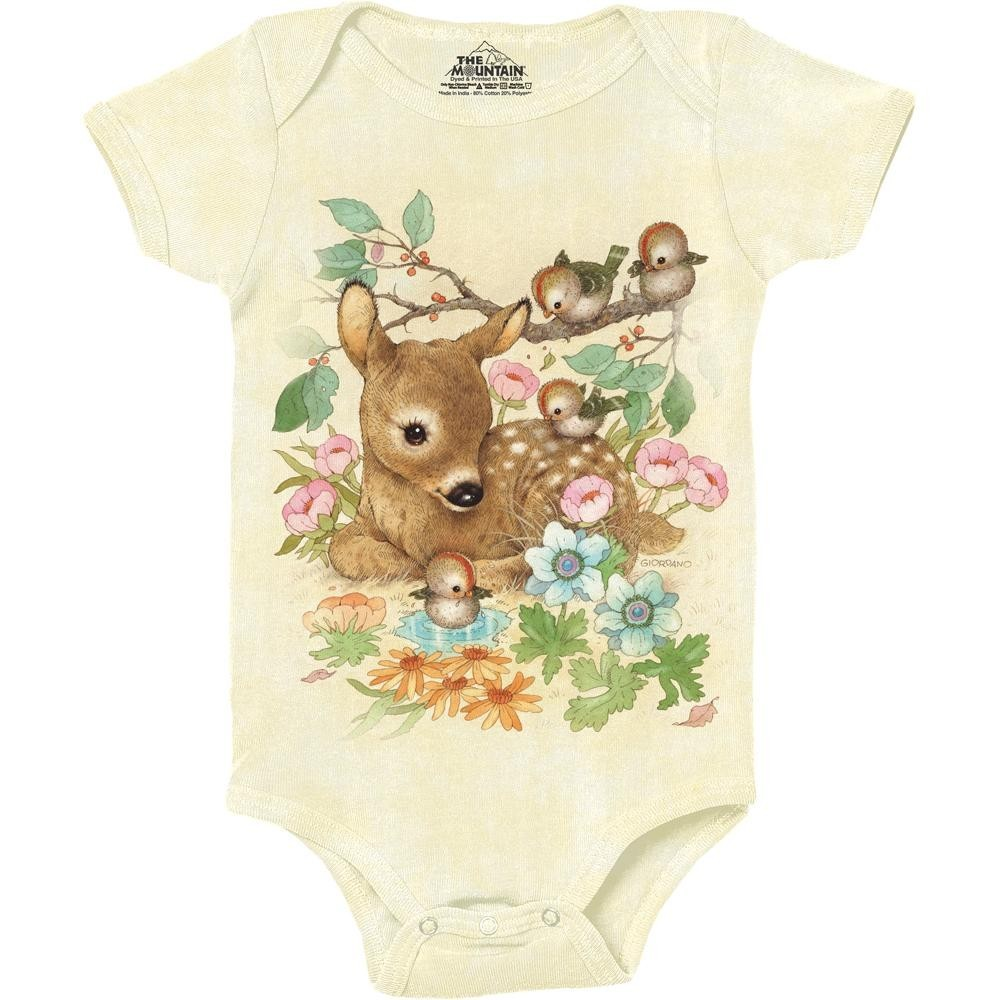 434ccf6f92 The Mountain Company Baby Doe Baby Girl Onesie Free Shipping Ivey s Gifts  and Decor. Loading zoom
