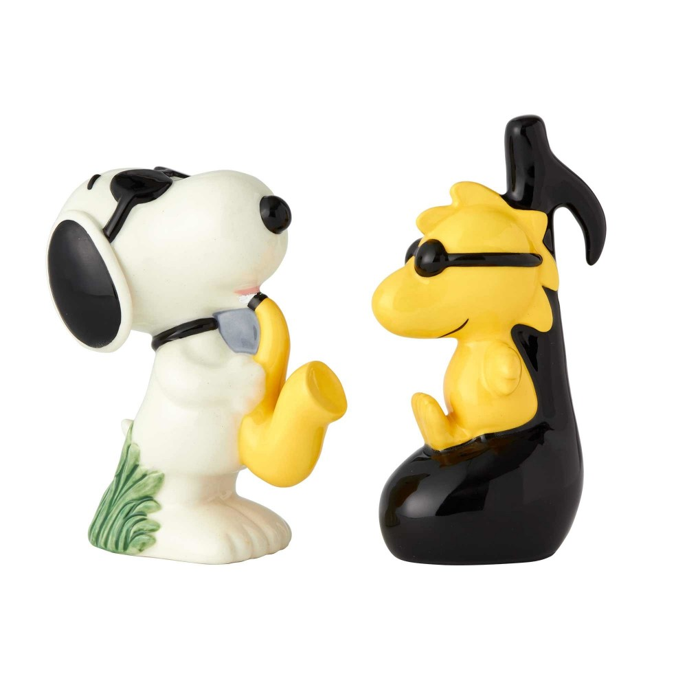 Peanuts Snoopy And Woodstock Salt And Pepper Shakers Free