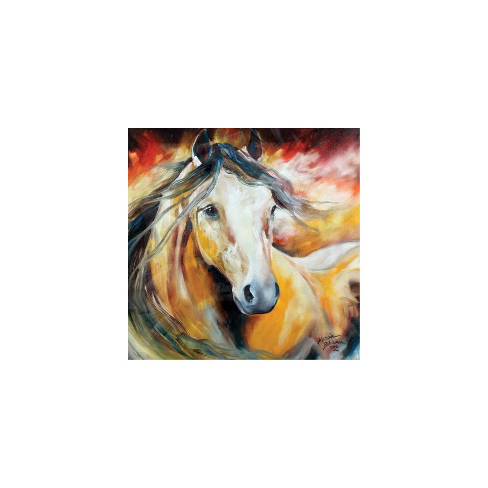 Buckskin wild wall art from marcia baldwin for Imagenes de cuadros abstractos famosos