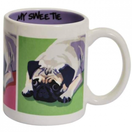 My Sweetie Pug Ceramic Coffee Mug