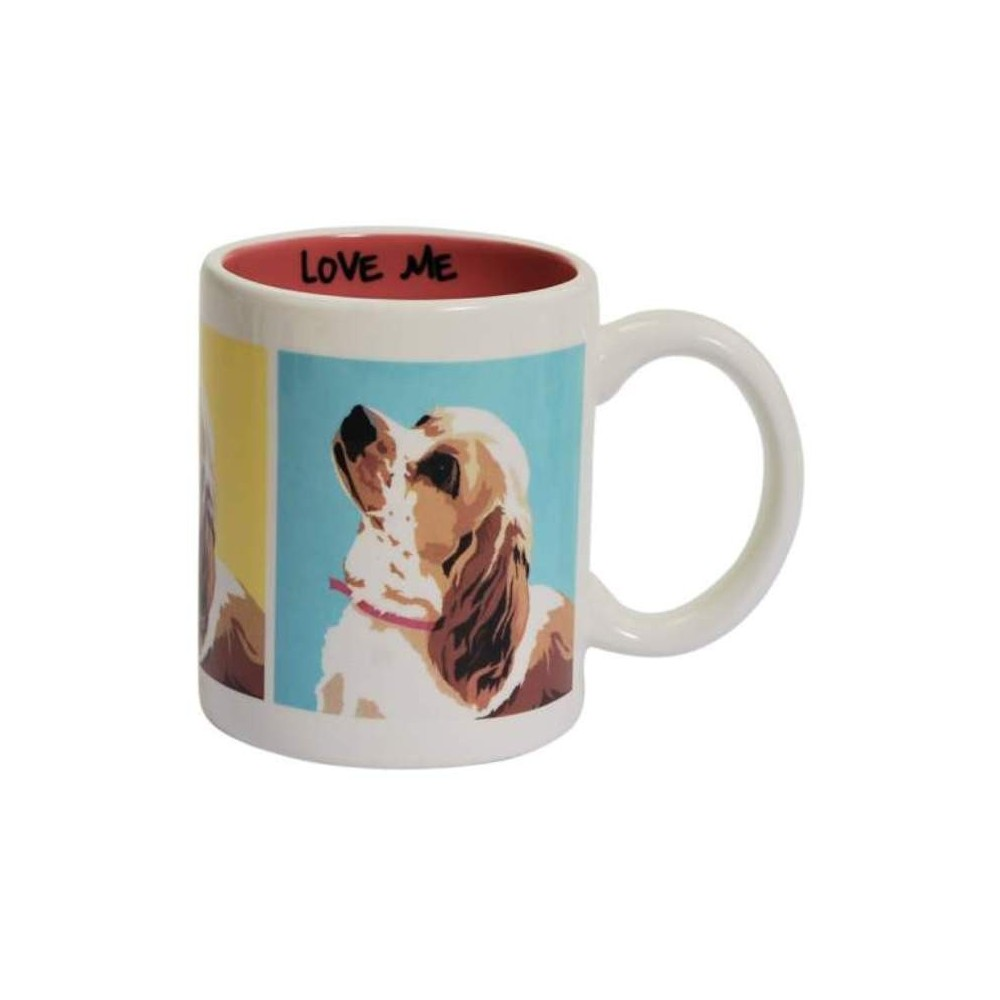 Cocker Spaniel Love Me Ceramic Coffee Mug