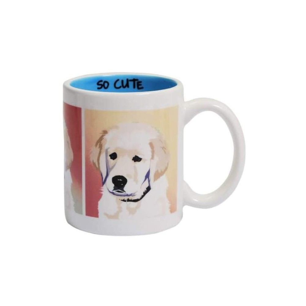 Best Friends Yellow Lab Ceramic Coffee Mug