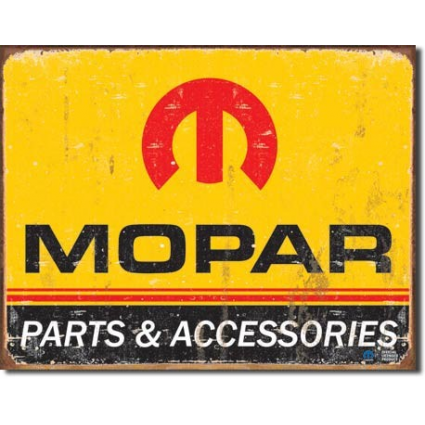 Desperate Enterprises Mopar Pants and Accessories Tin Sign Ivey's Gifts and Decor