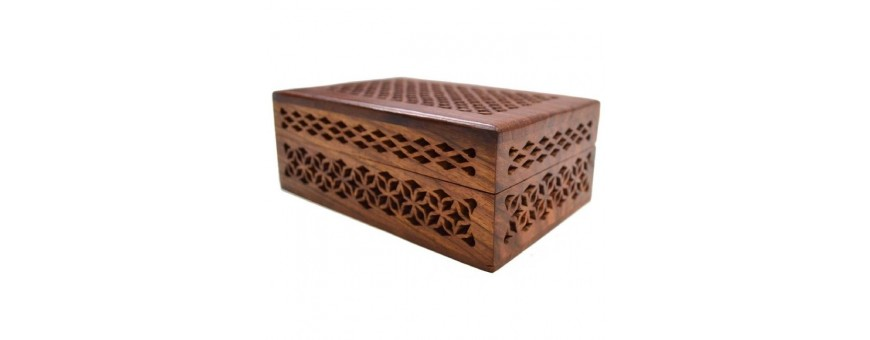 Handmade Wooden Boxes Puzzles and Room Decor