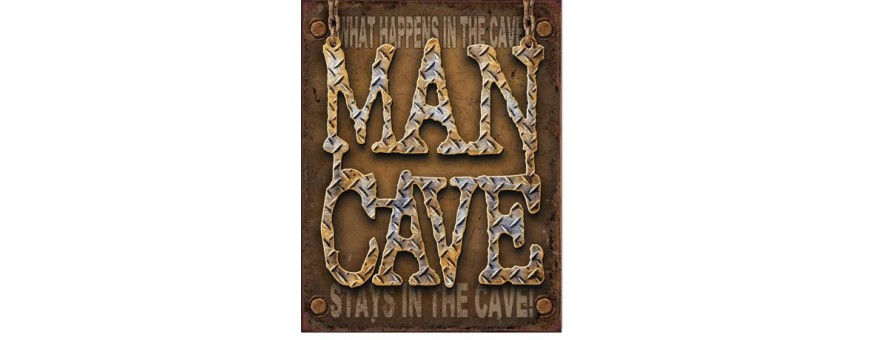 Man Cave Tin Signs