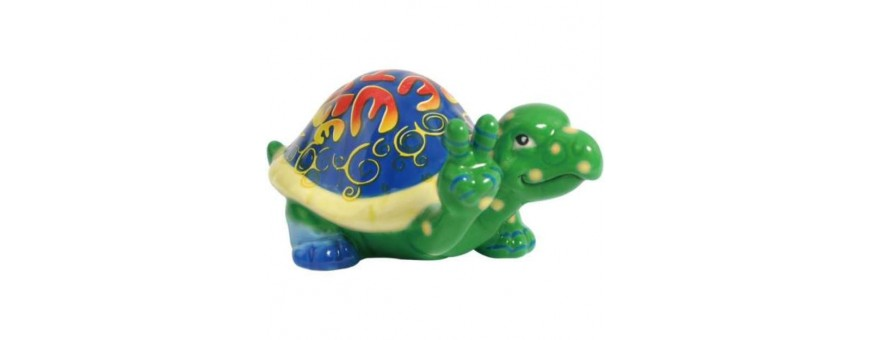Peace Turtles Figurines