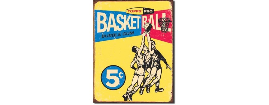 Basketball Metal Signs